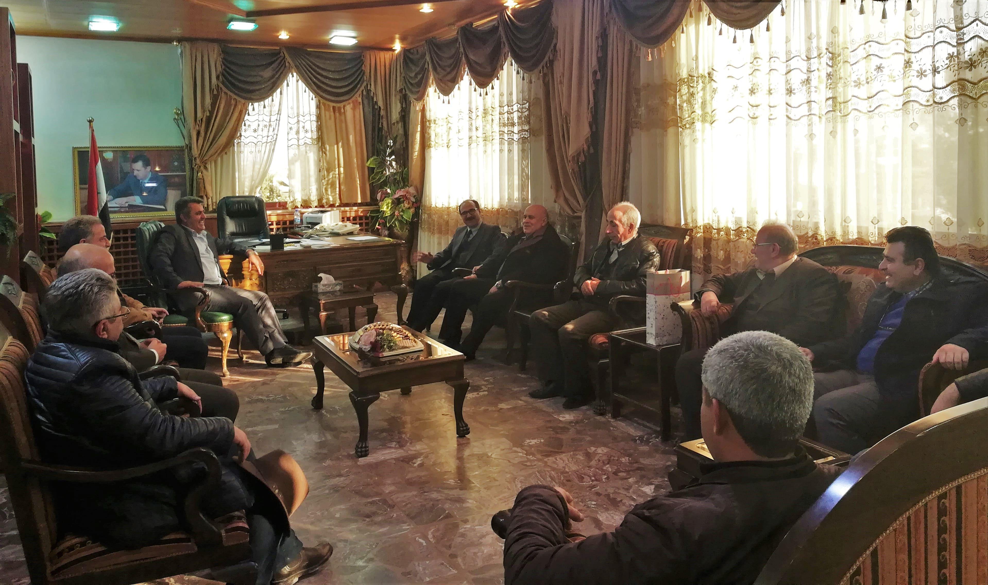 ... جامعة حماه والشركة العامة للطرق والجسور إلى مزيد من التعاون